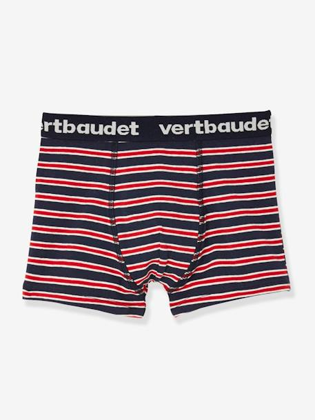 Lot de 3 boxers stretch garçon Music Lot encre 3 - vertbaudet enfant