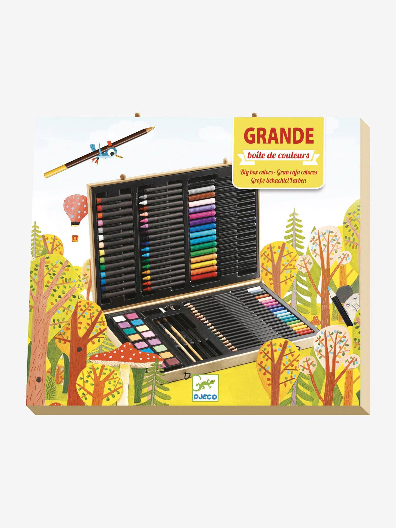 Grande boîte de couleurs DJECO multicolore