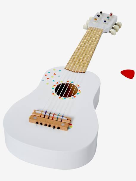 Guitare en bois Blanc 2 - vertbaudet enfant