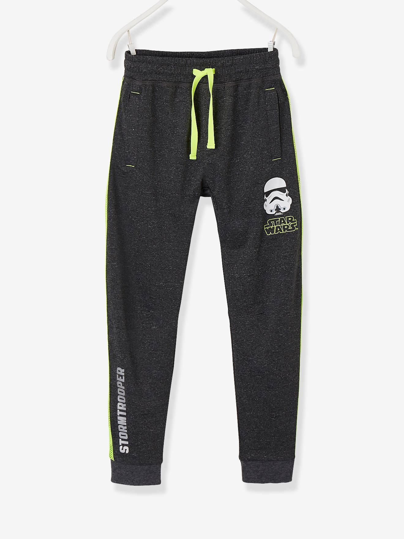 Pantalon sport garçon Star Wars® en molleton gris foncé