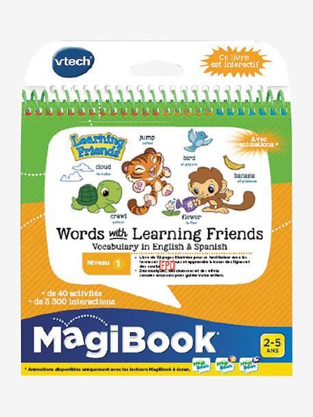 Magibook Livre Educatif Mes 200 Premiers Mots Francais Anglais Vtech Multicolore Vtech