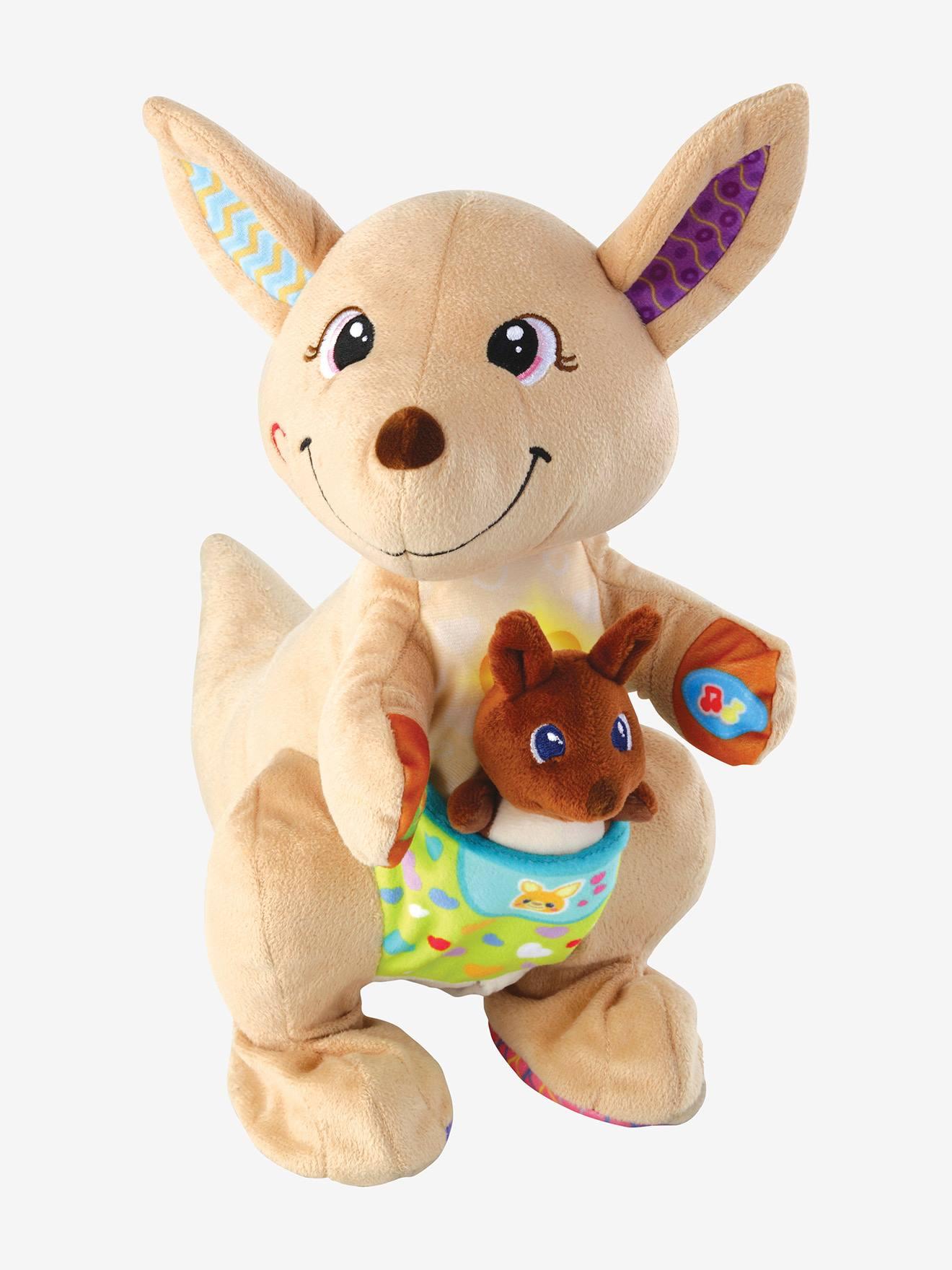 Maman Kangou-love et son bébé VTECH multicolore