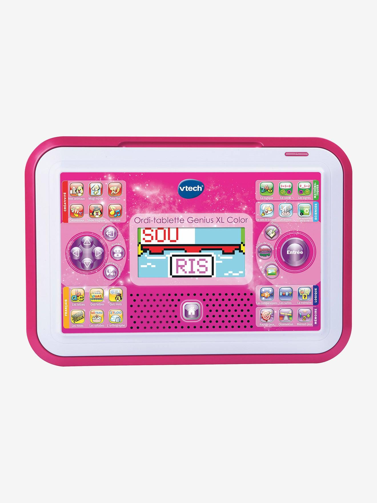 Ordi-tablette Genius XL Color VTECH rose