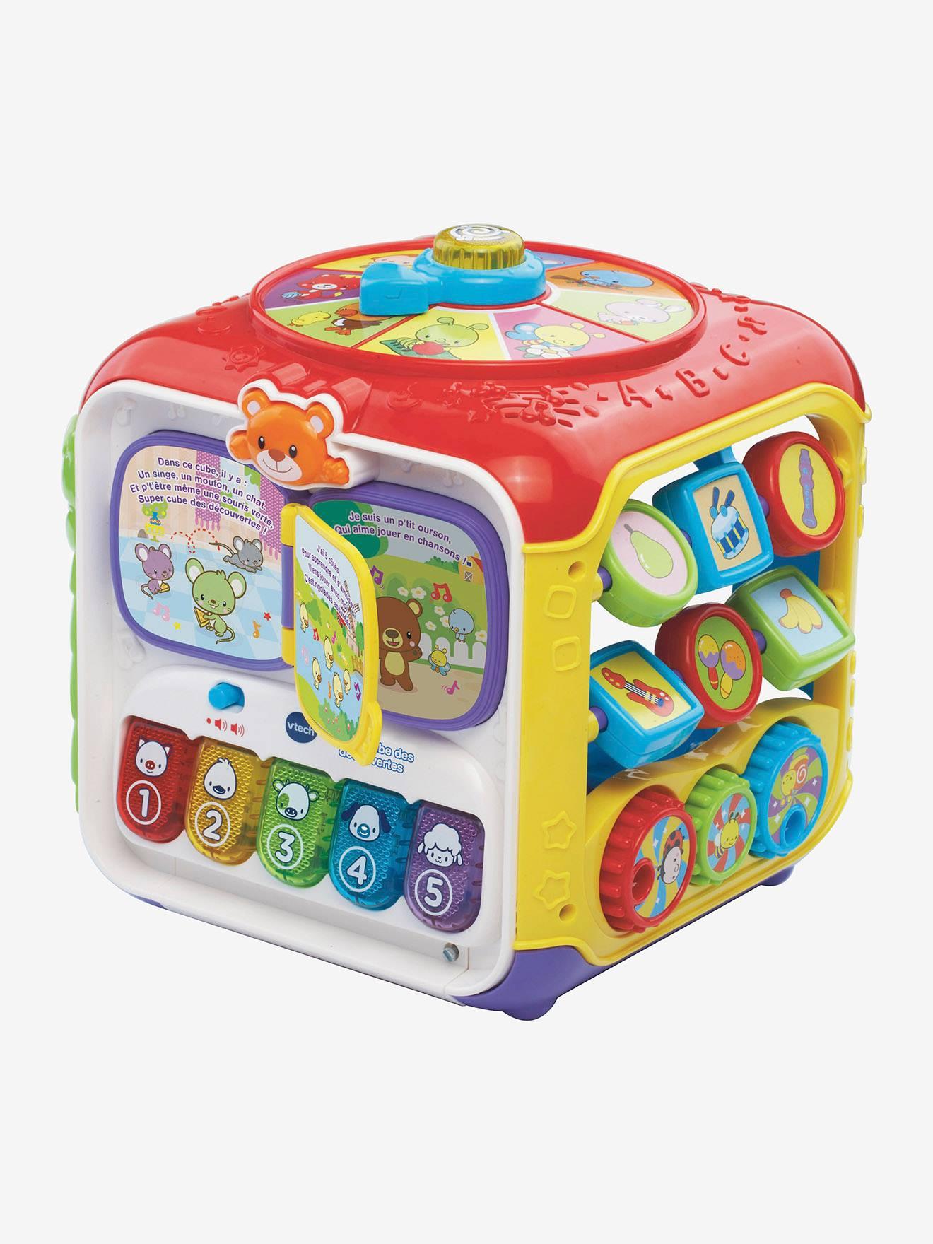 Super cube des découvertes VTECH multicolore