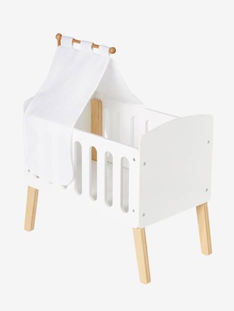 Ciel de lit pour lit poupon blanc - Vertbaudet