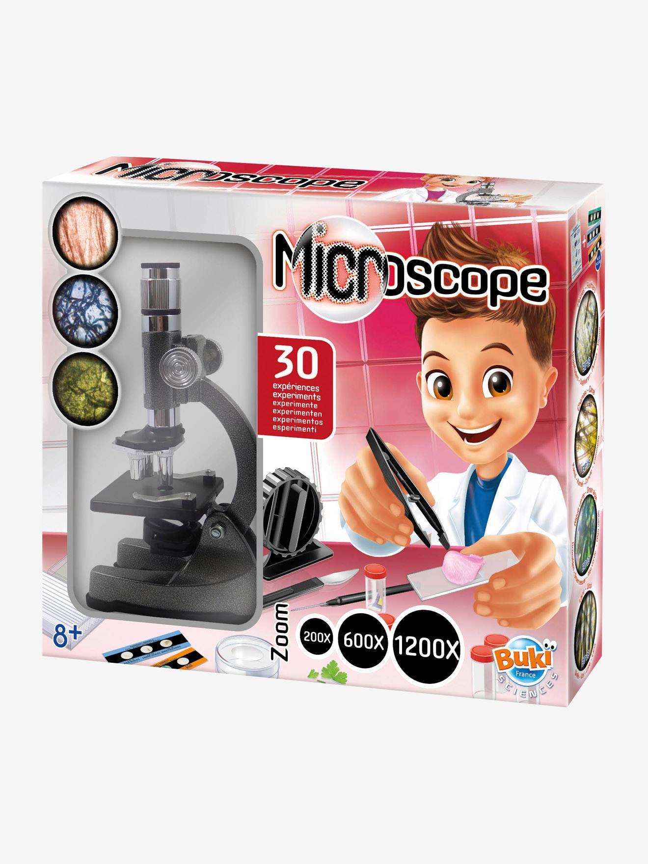 Microscope - 30 expériences BUKI rouge