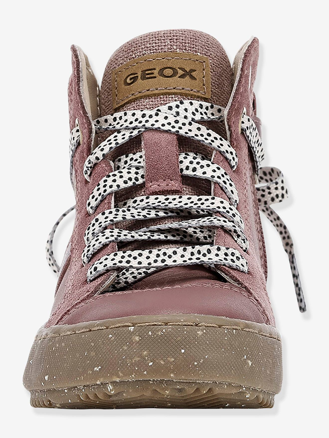 Baskets Mid fille Kalispera Girl I WWF GEOX® gris fume GEOX