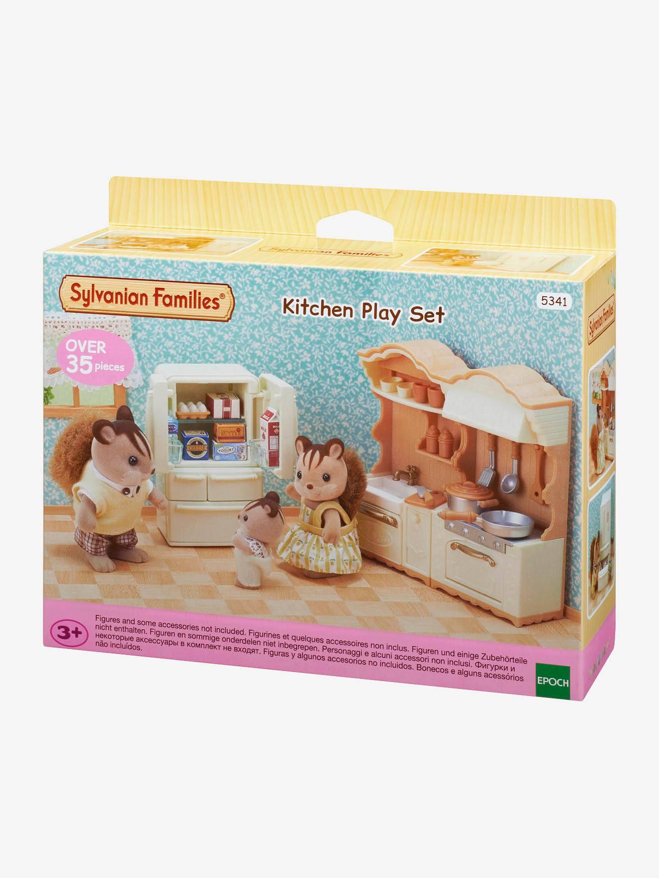 Accessoires Pour Cuisine Aménagée 5341 - la cuisine aménagée sylvanian families beige - sylvanian