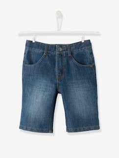 valisevacances-classeverte-Bermuda garçon en denim