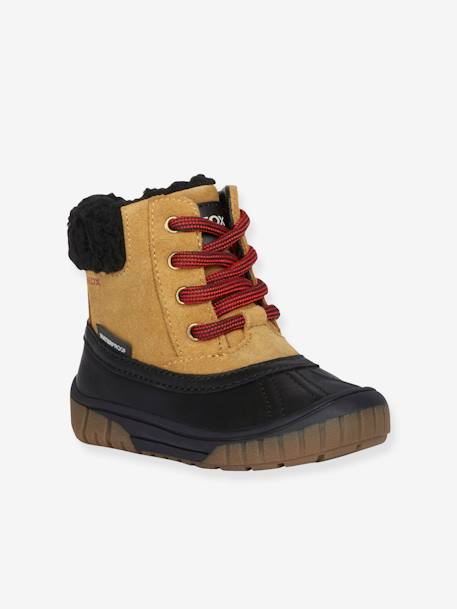 le dernier 29acb c723a Boots fourrées bébé garçon Omar Boy WPF C GEOX® jaune foncé - Geox