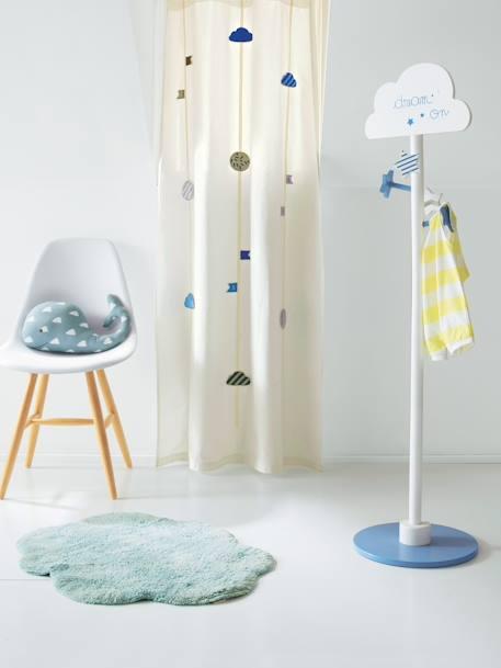 porte manteau enfant nuage blanc bleu vertbaudet. Black Bedroom Furniture Sets. Home Design Ideas
