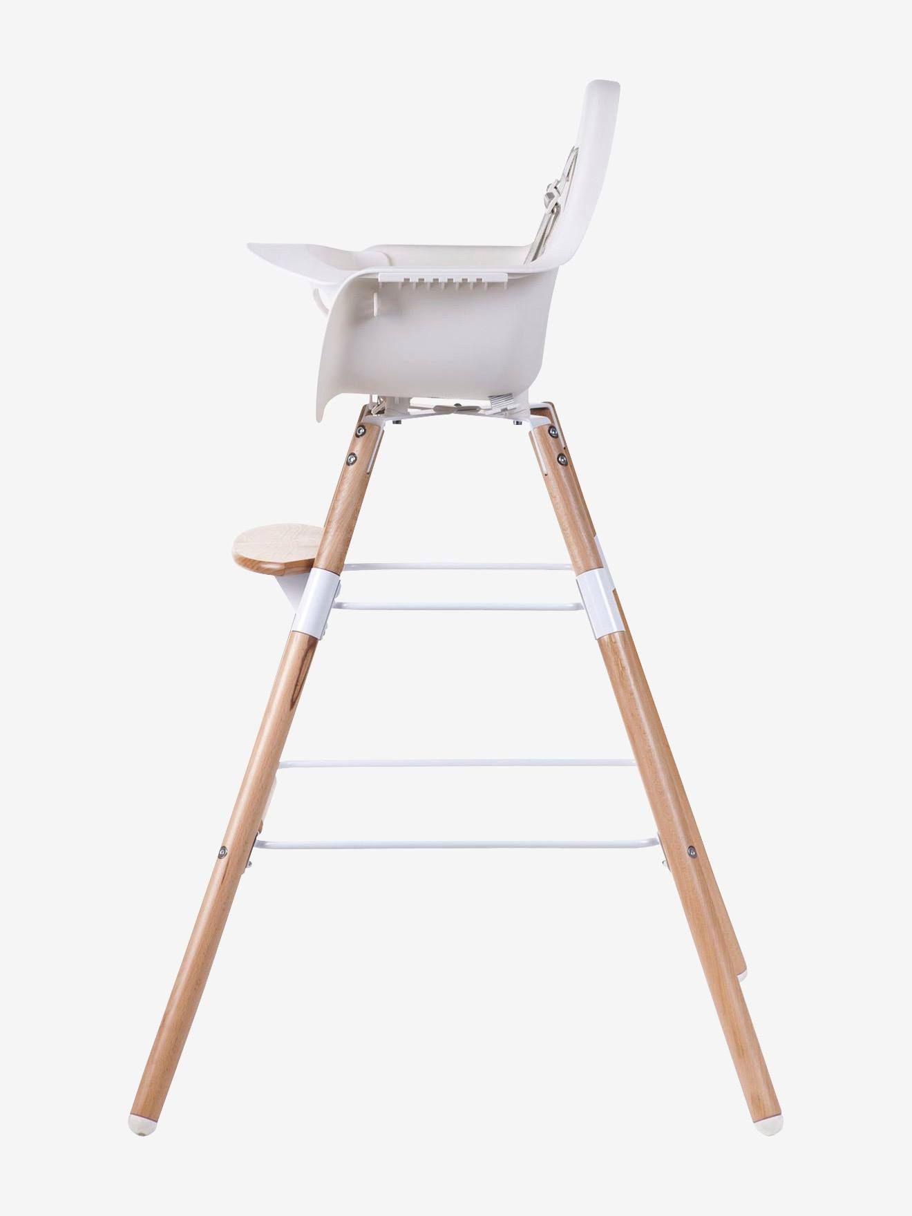 Kit de pieds longs pour chaise haute Evolu + repose pieds CHILDHOME naturel