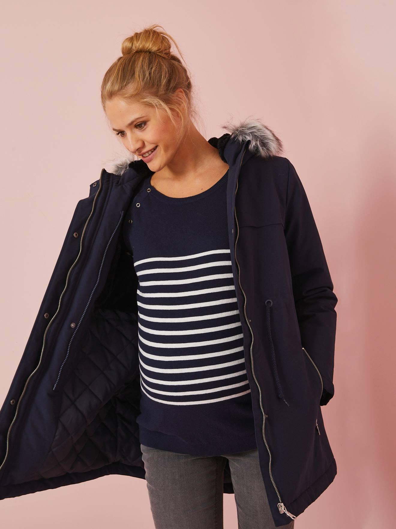 Manteau pour femme maigre