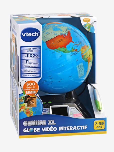 Genius Xl Globe Video Interactif Vtech Multicolore Vtech