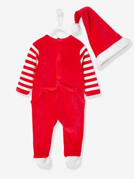 usa pas cher vente expédition gratuite dessin de mode Coffret de Noël pyjama bébé et chapeau rouge - Vertbaudet