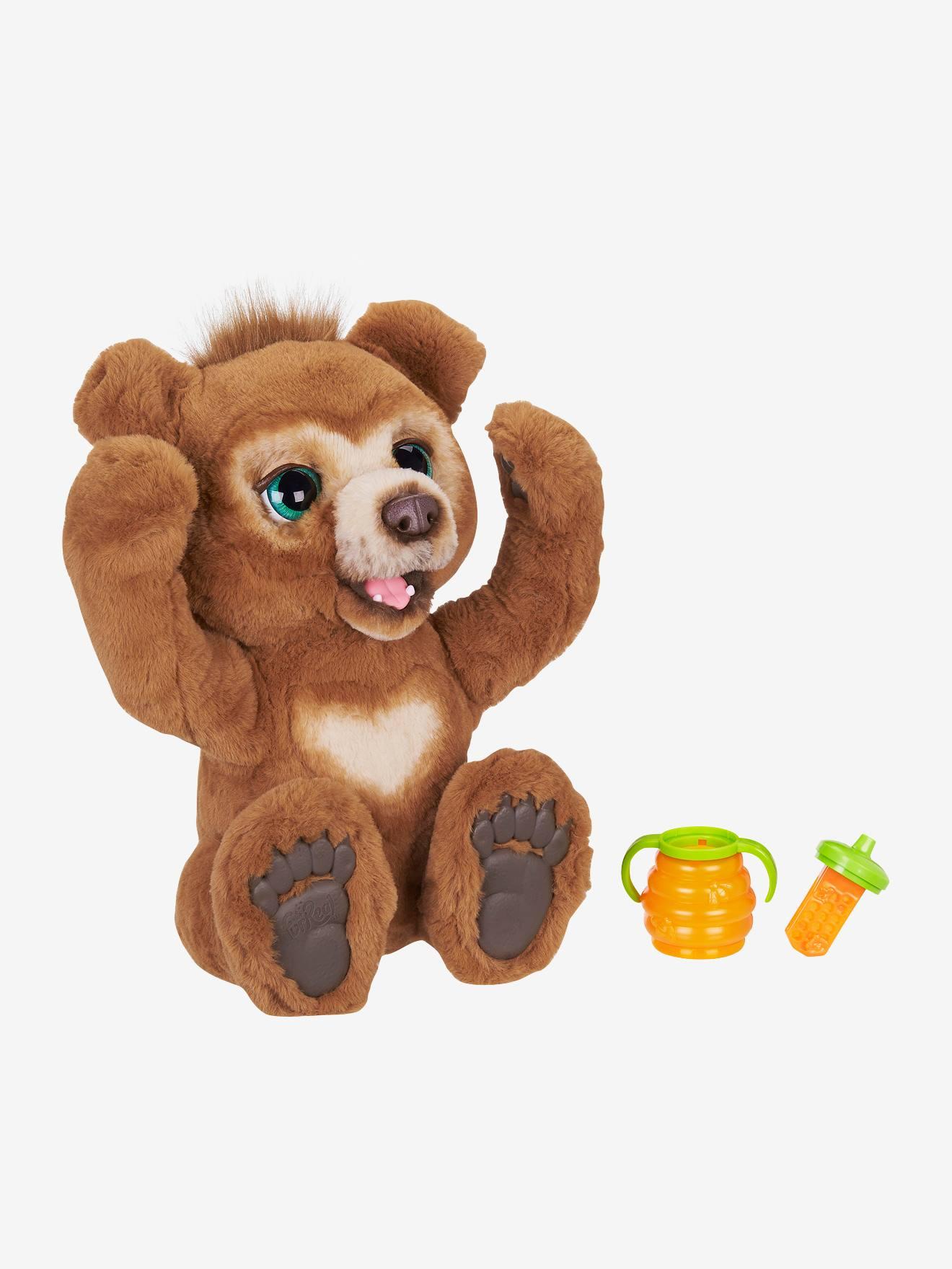 Cubby - Mon ours curieux Furreal Friends marron