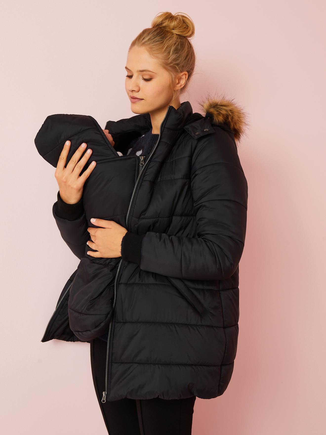 Veste & Manteau grossesse Bleu Manteaux pour femmes