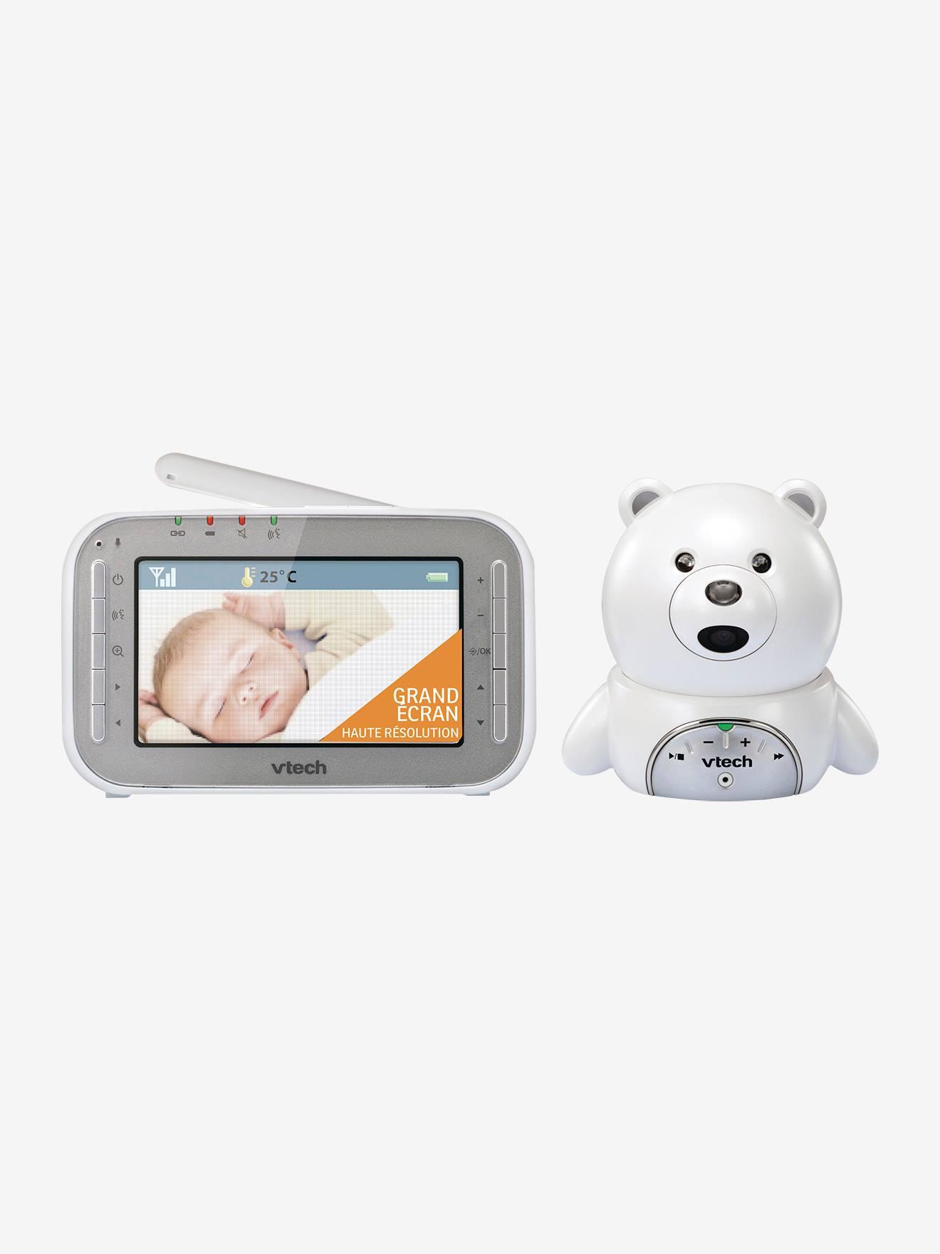 Babyphone vidéo XL ourson BM4200 VTECH blanc