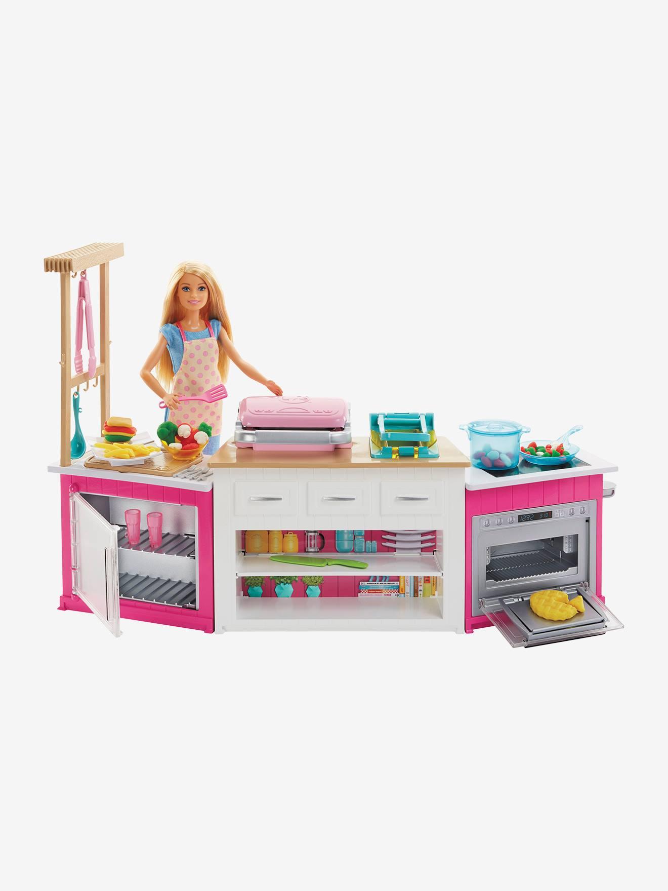 Coffret Cuisine à Modeler Barbie Mattel Rose Barbie