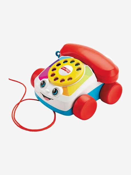 Le Téléphone Animé Fisher Price Mattel Rouge Fisher Price