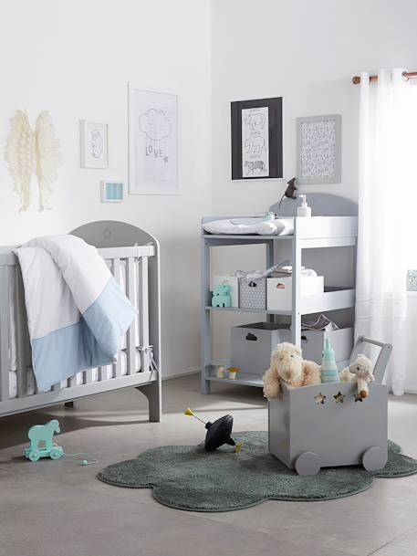 table langer ligne sirius blanc vertbaudet. Black Bedroom Furniture Sets. Home Design Ideas