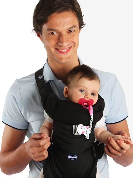 99b288bb51b1 Porte-bébé ergonomique CHICCO Easyfit DARK BEIGE+Noir 6 - vertbaudet enfant