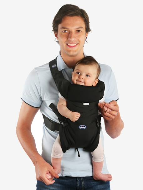 d11f7eff3cdf Porte-bébé ergonomique CHICCO Easyfit DARK BEIGE+Noir 3 - vertbaudet enfant