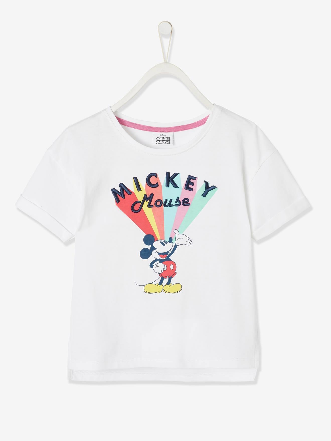 T-shirt fille Disney Mickey® blanc