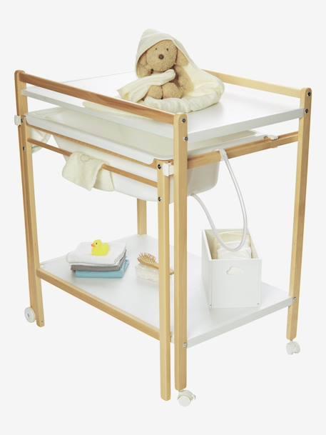 table langer avec baignoire int gr e vertbaudet magictub naturel blanc vertbaudet. Black Bedroom Furniture Sets. Home Design Ideas