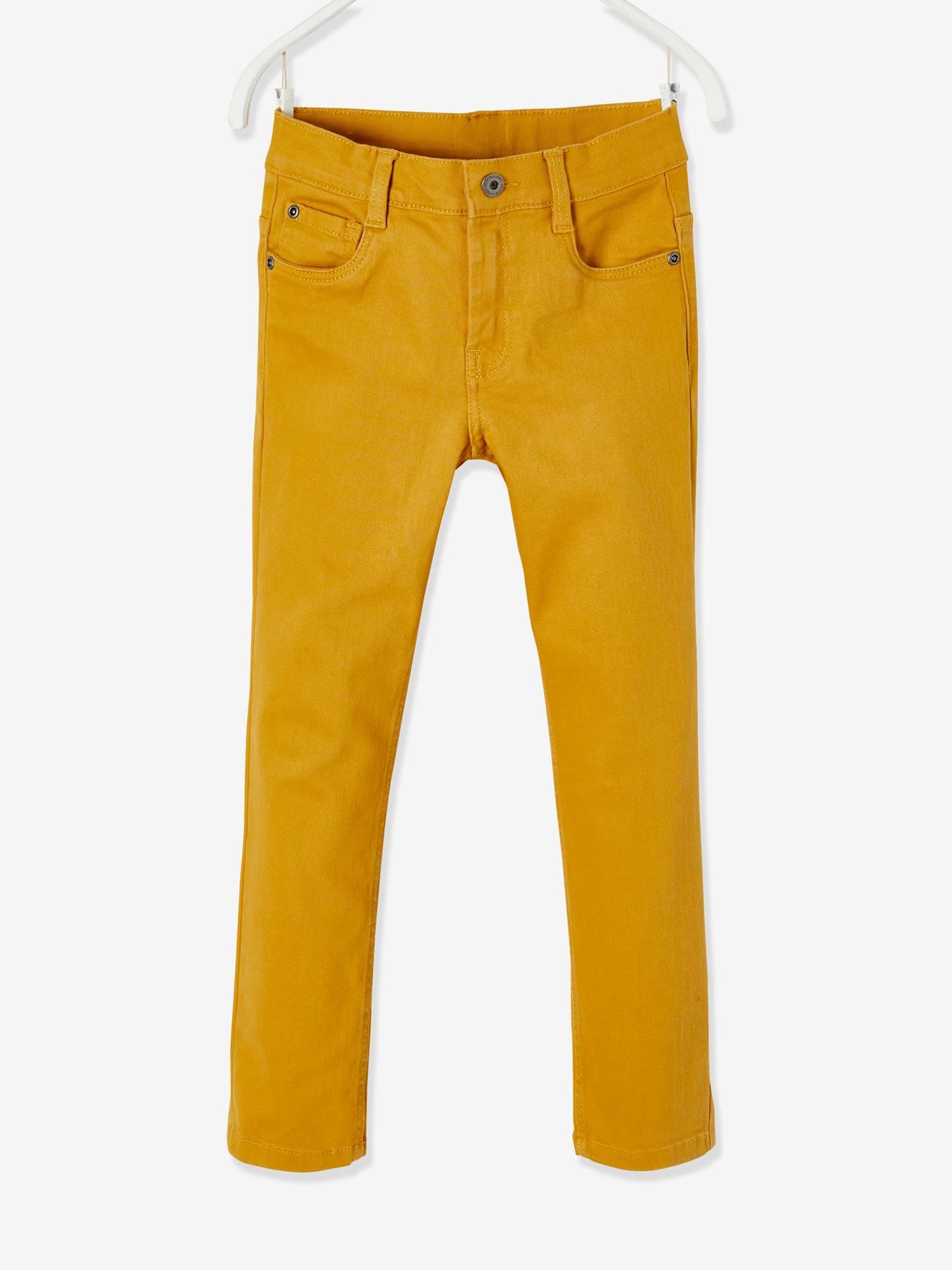 Pantalon garçon enfant Jaune - Pantalons