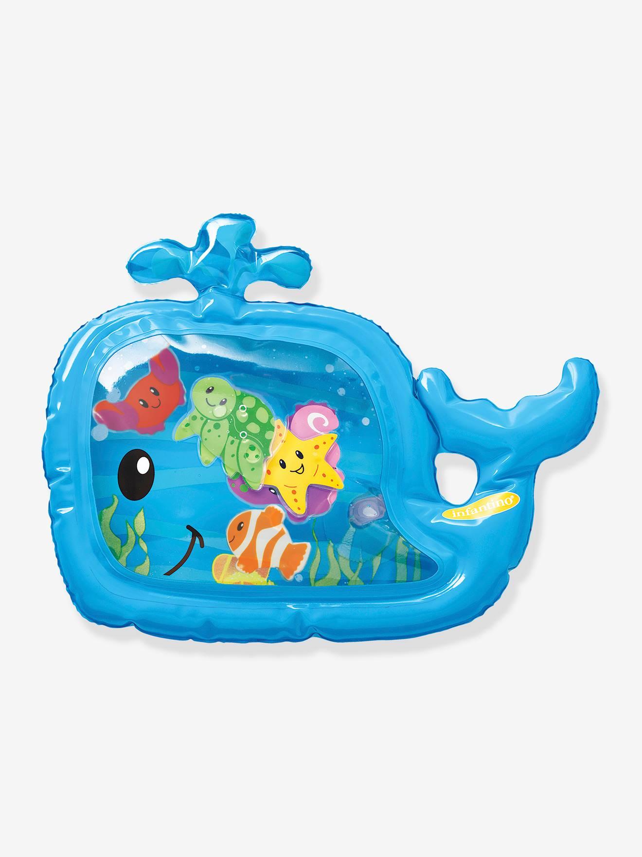 Tapis à eau sensoriel INFANTINO bleu