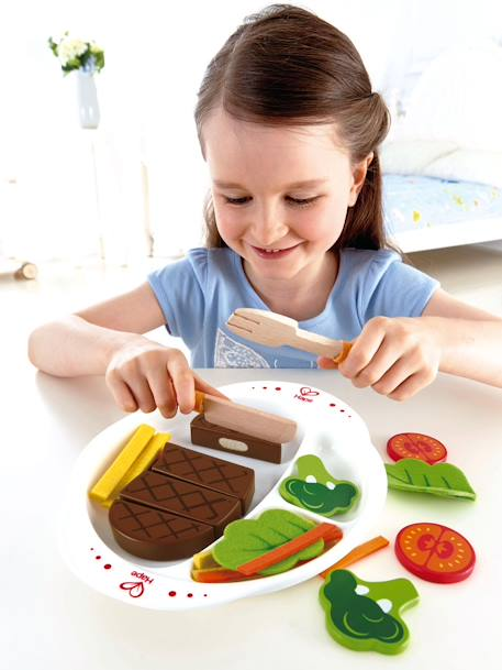 Set steak frites HAPE. Multicolore 5 - vertbaudet enfant