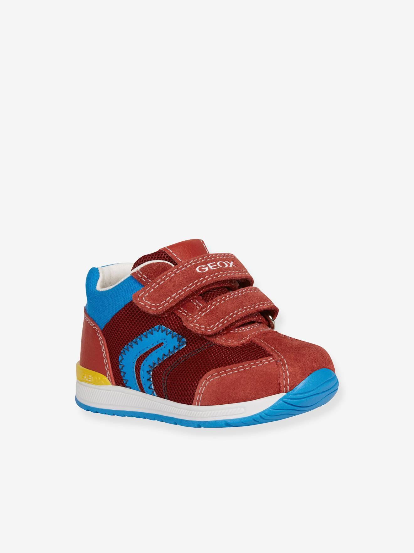 Baskets Mid bébé garçon Rishon GEOX® rouge