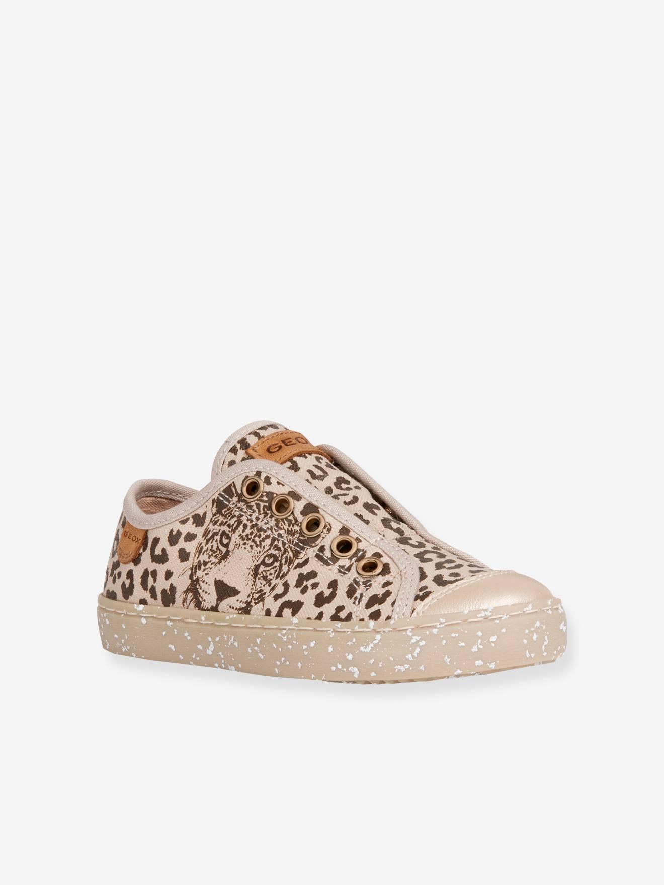 Baskets fille Kilwi WWF GEOX® beige léopard