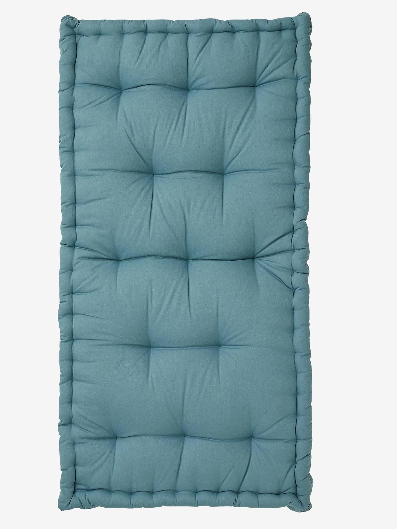 Matelas Au Sol Sommier matelas de sol style futon bleu - vertbaudet
