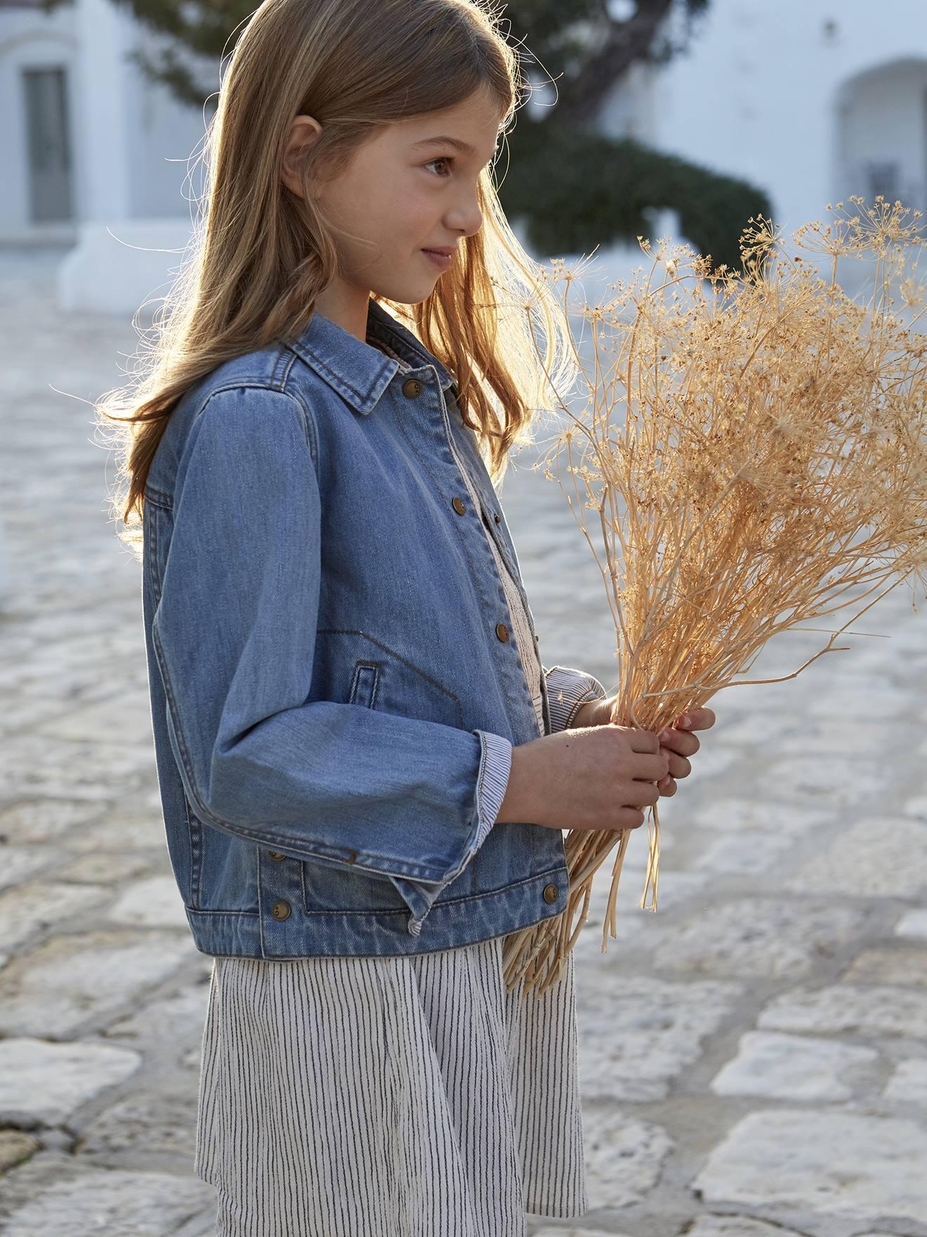 Enfants Filles Faux Cuir Noir Look Veste Âge 3 4 5 6 7 8 9 10 11 Manteau Motard