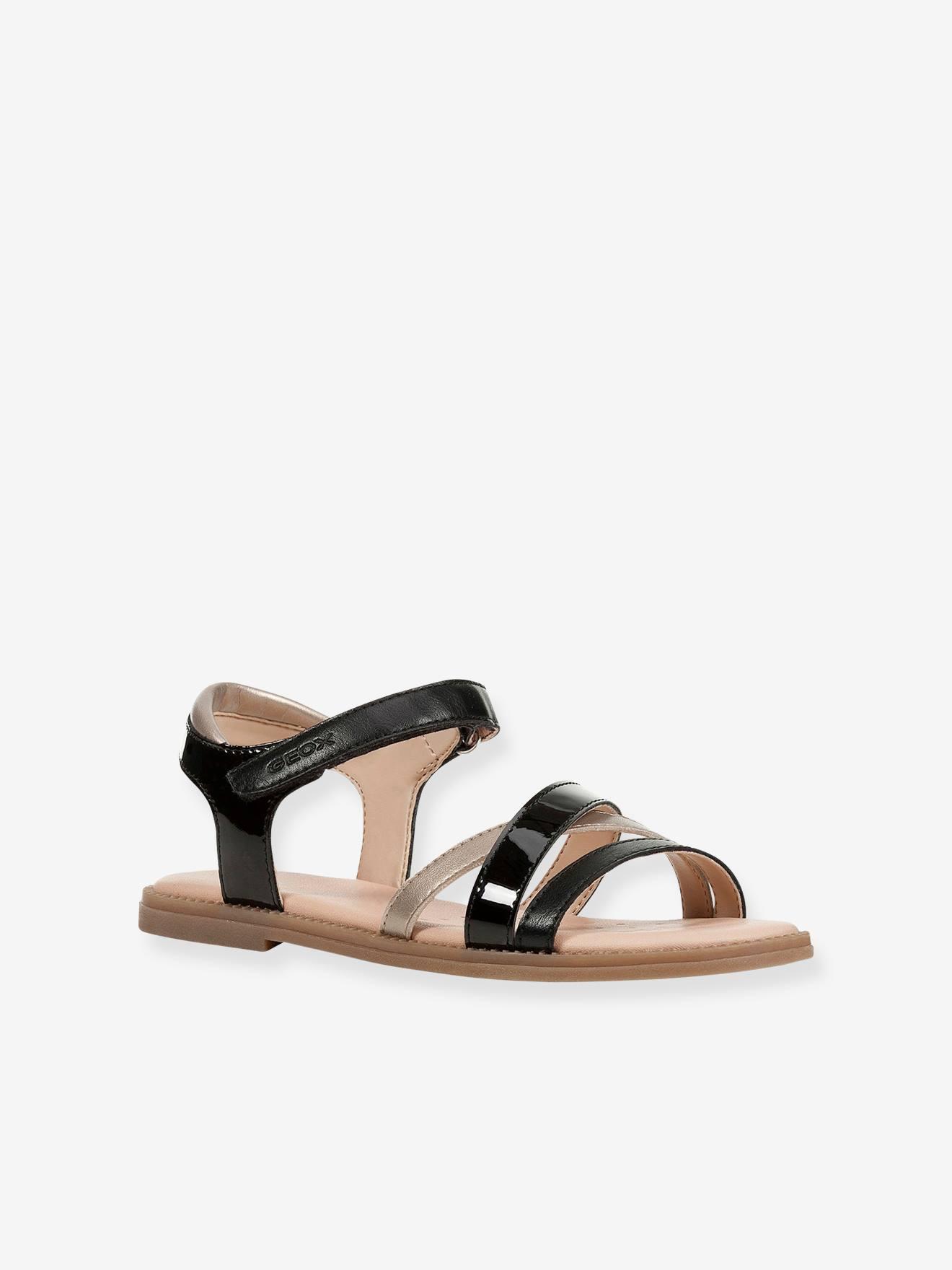 Sandales fille Karly GEOX® black platinium, Chaussures