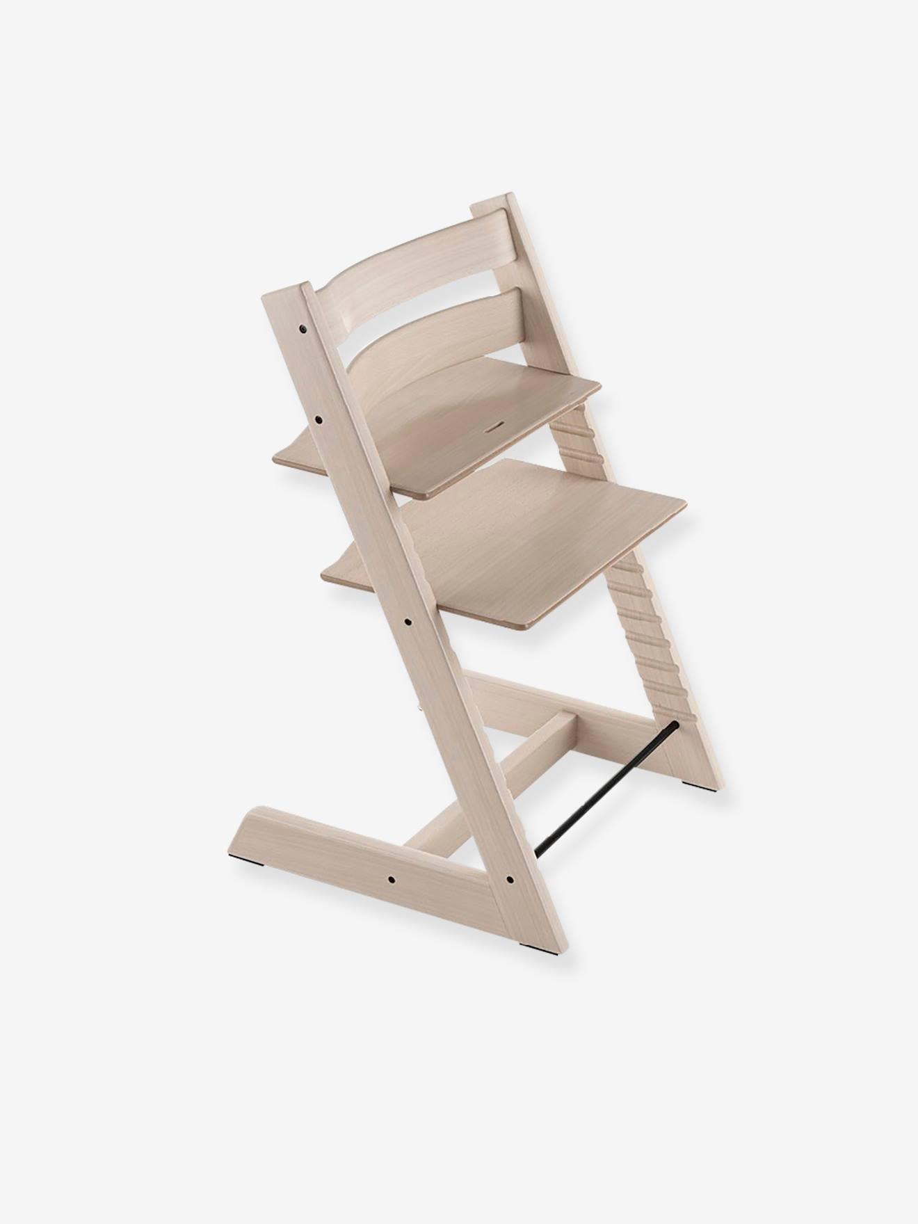 Chaise haute Tripp Trapp STOKKE blanchie