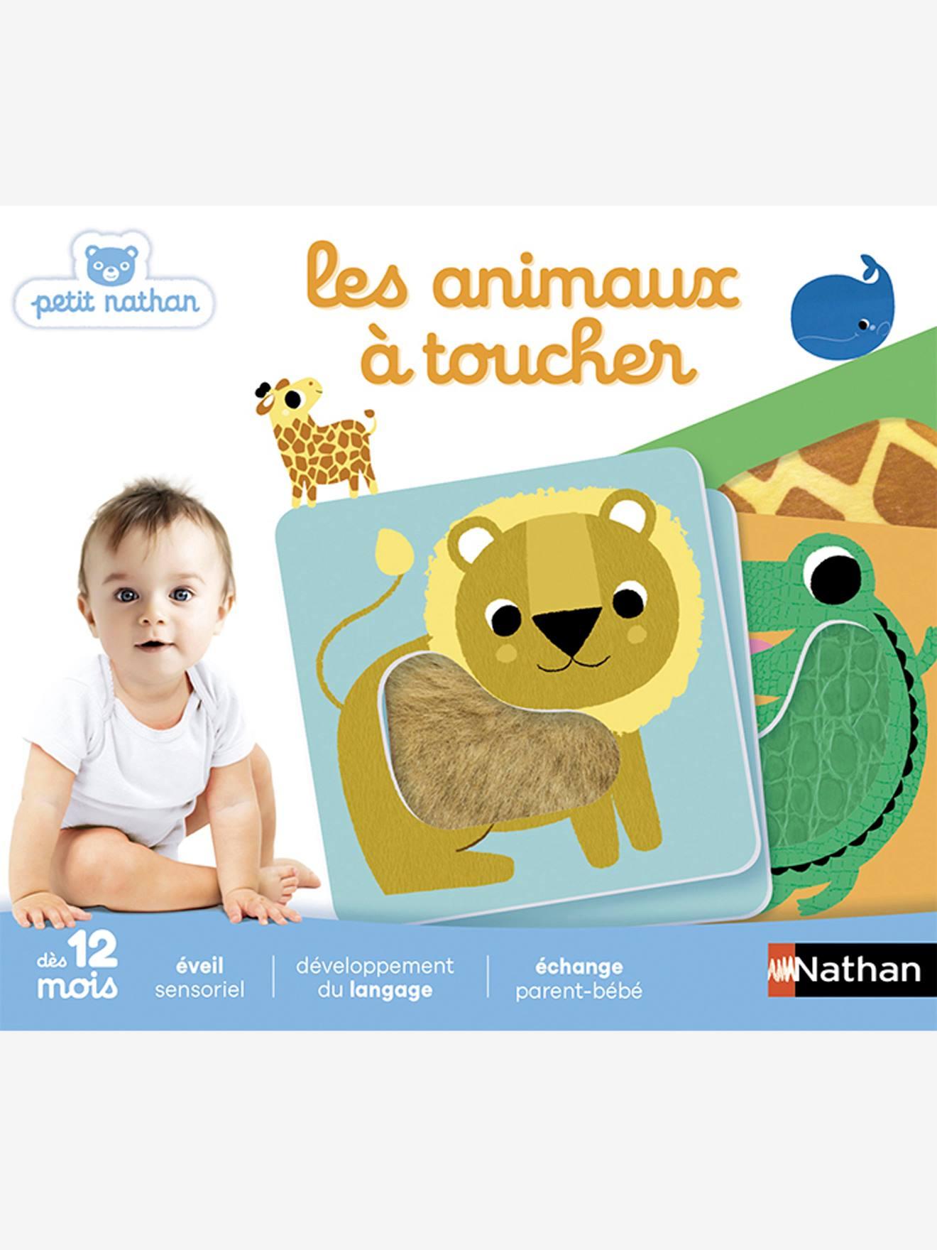Les animaux à toucher NATHAN blanc