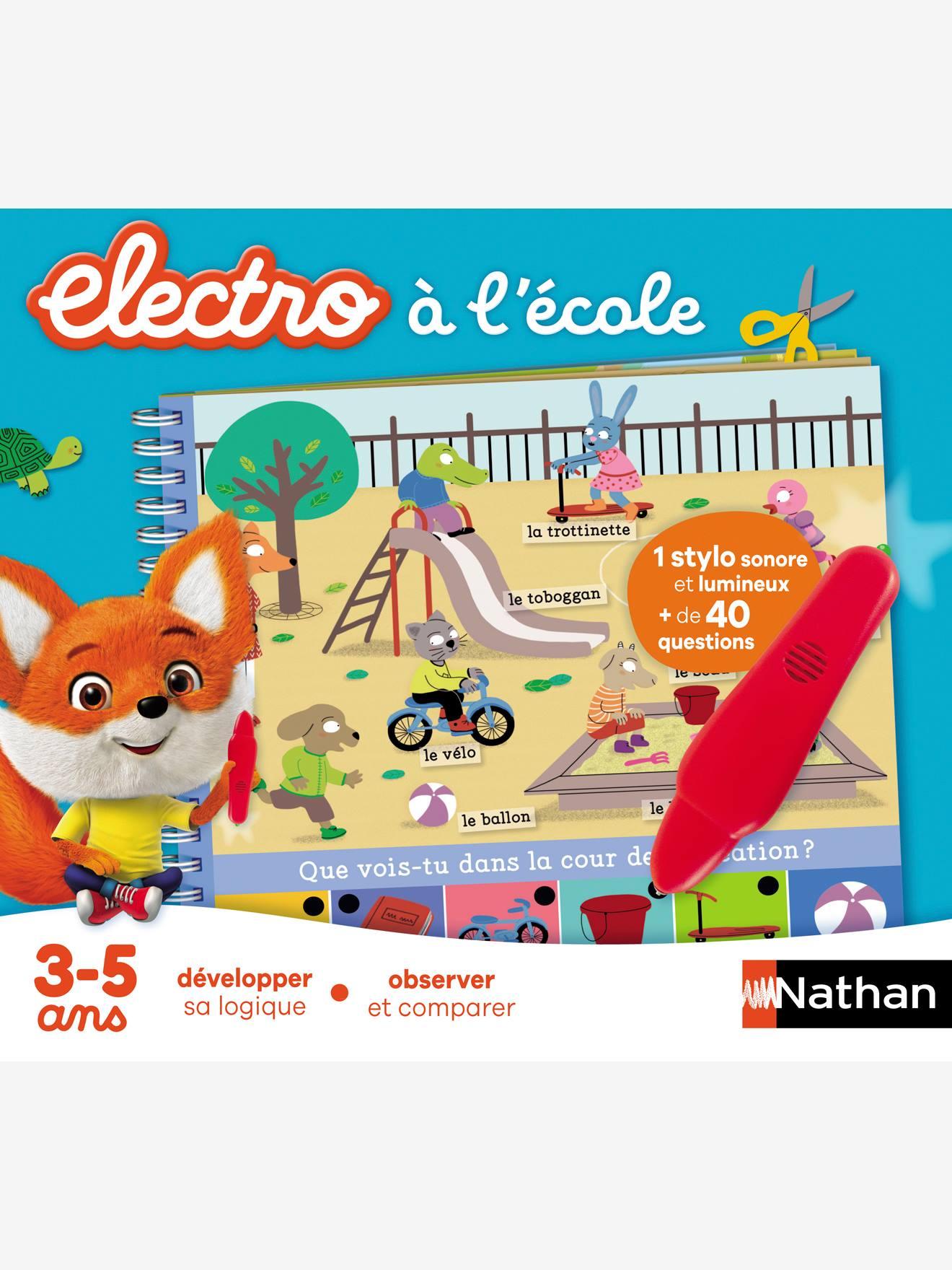 Petit electro à l'école NATHAN bleu