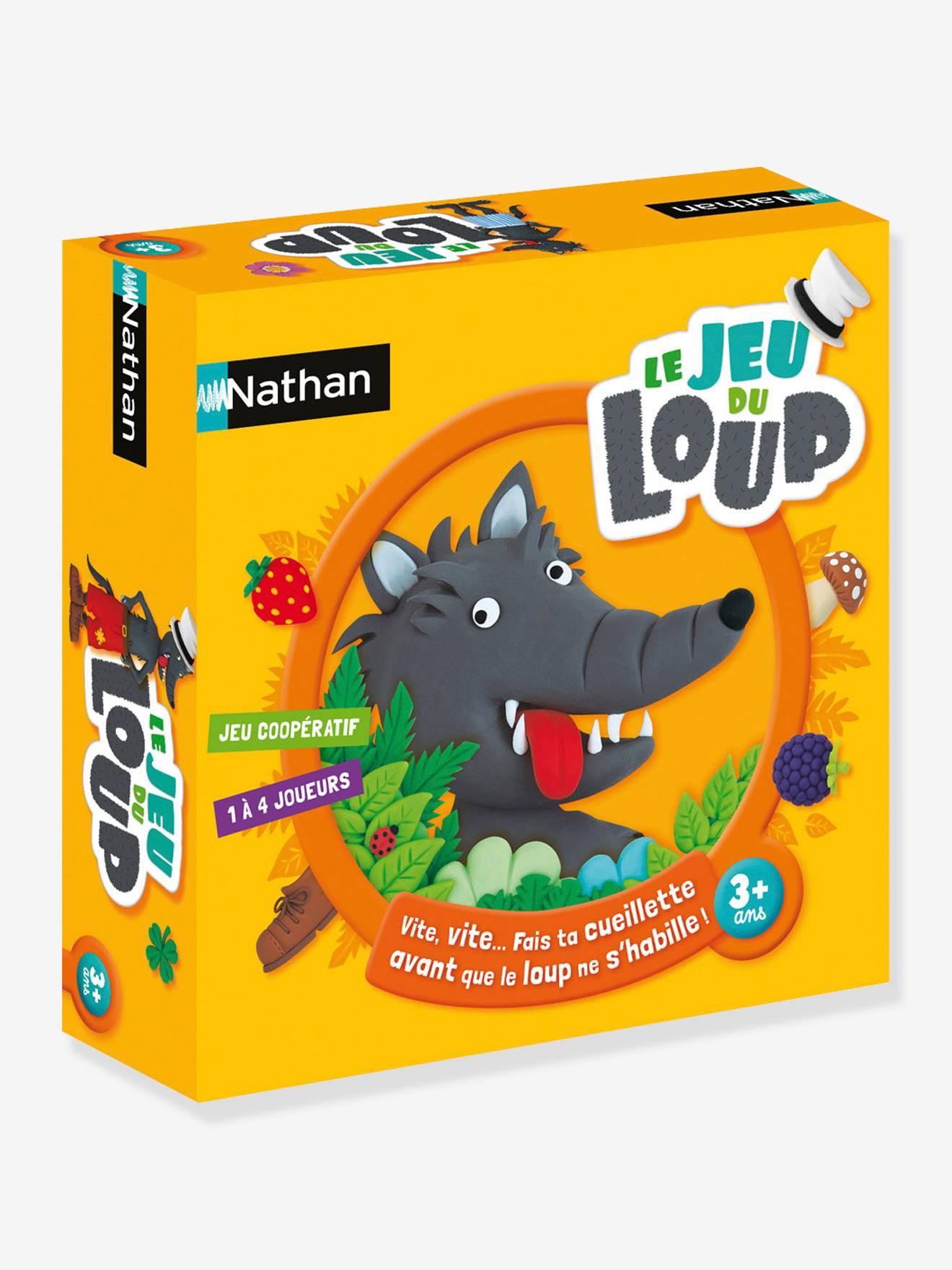 Le jeu du loup NATHAN jaune