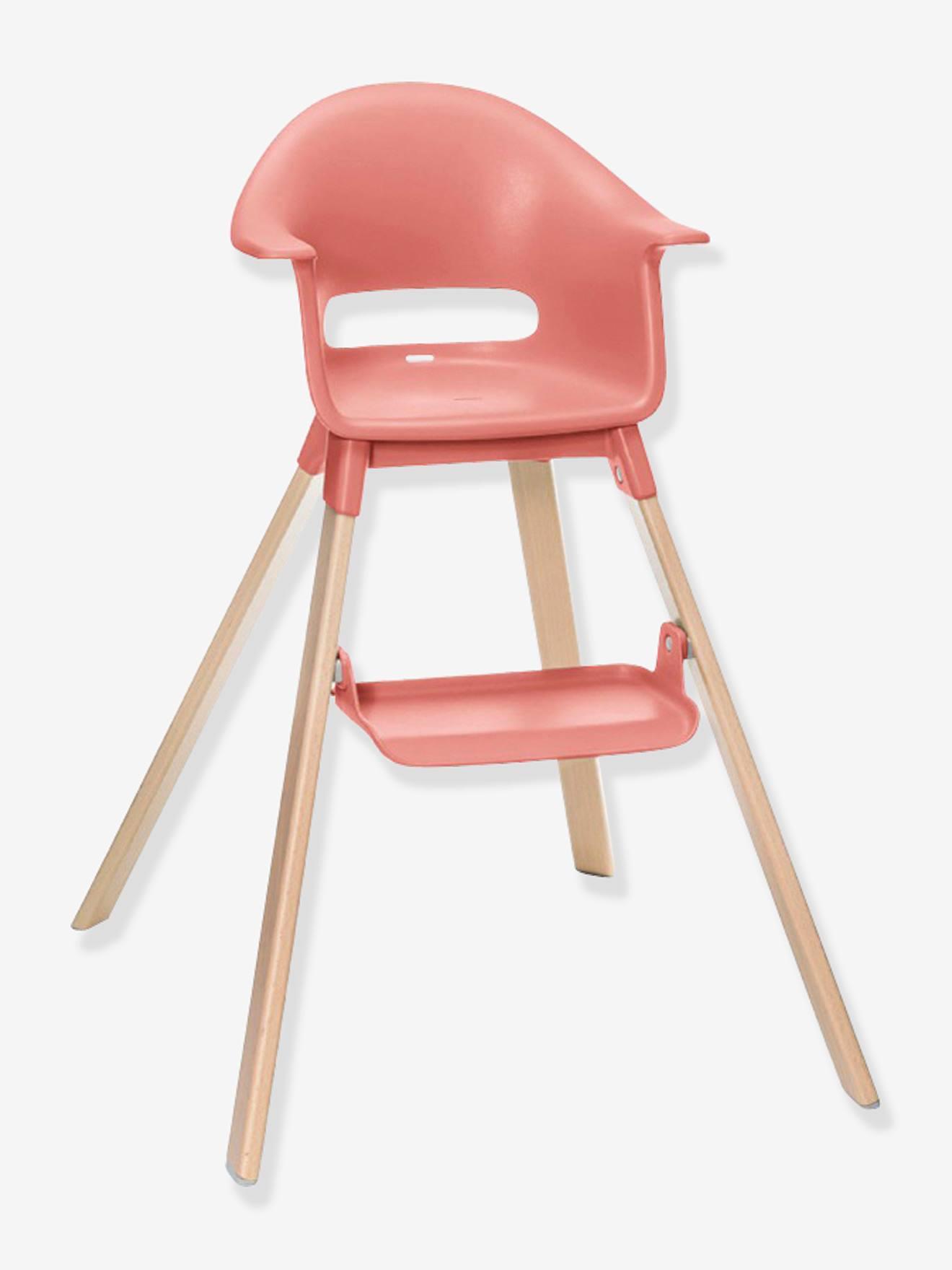 Chaise haute STOKKE Clikk corail