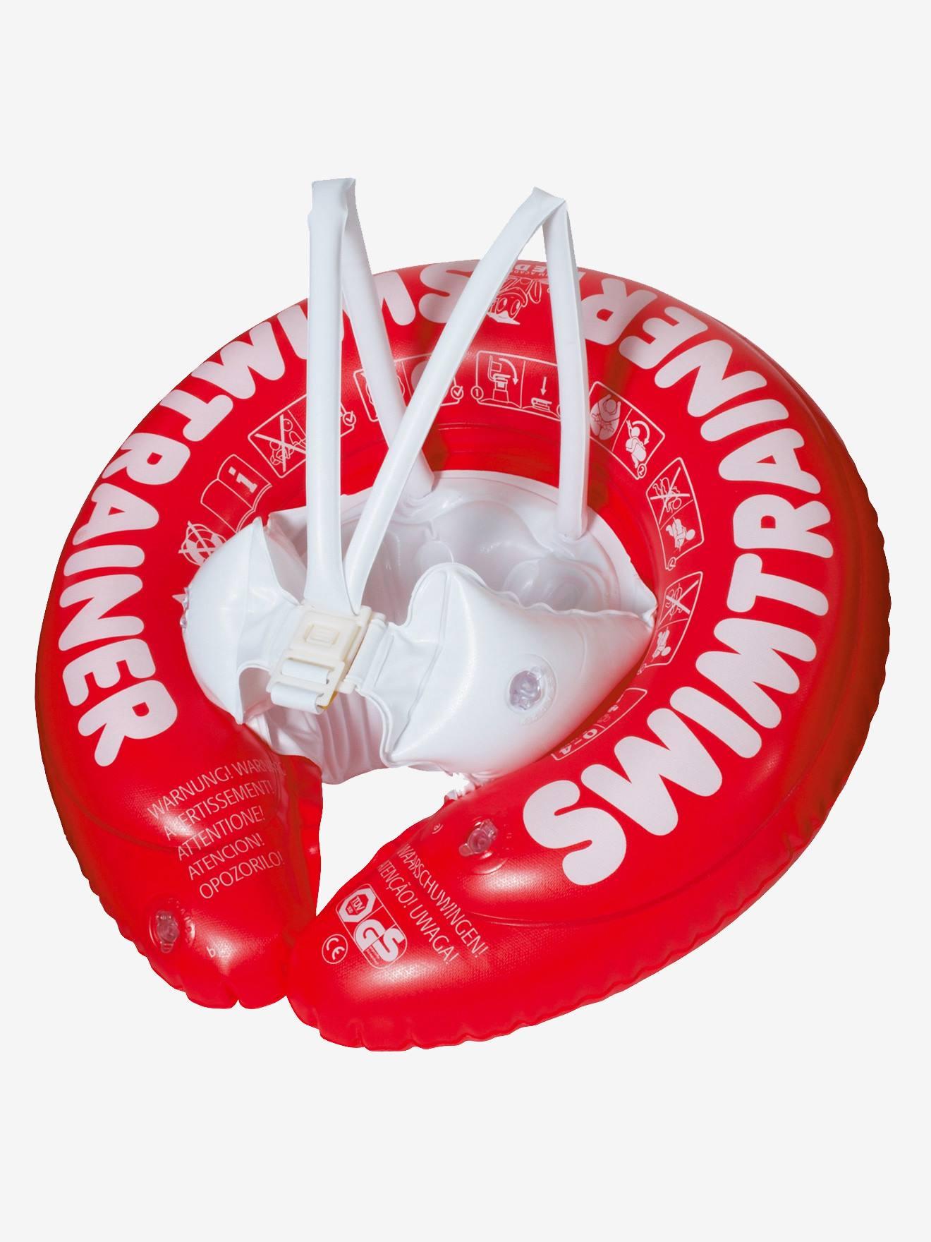 Bouée Swimtrainer FRED SWIM ACADEMY rouge 3 mois - 4 ans