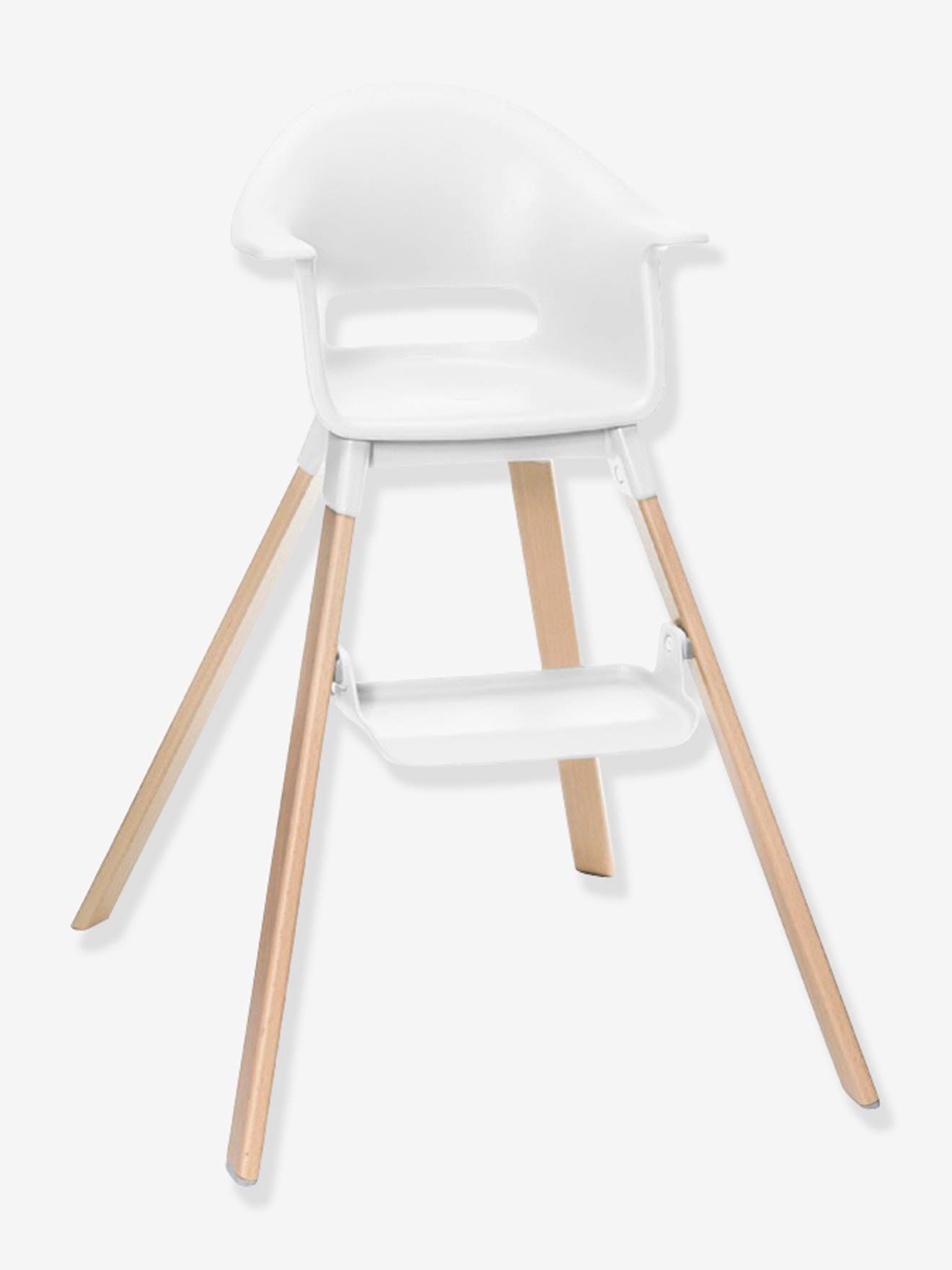 Chaise haute STOKKE Clikk blanc