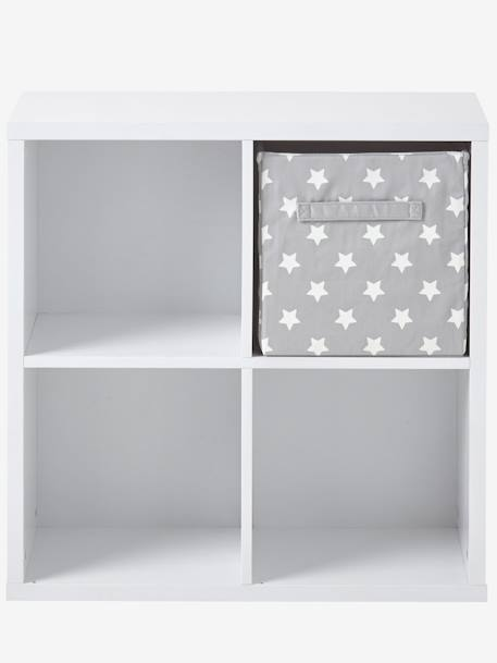 meuble de rangement 4 cases blanc vertbaudet. Black Bedroom Furniture Sets. Home Design Ideas