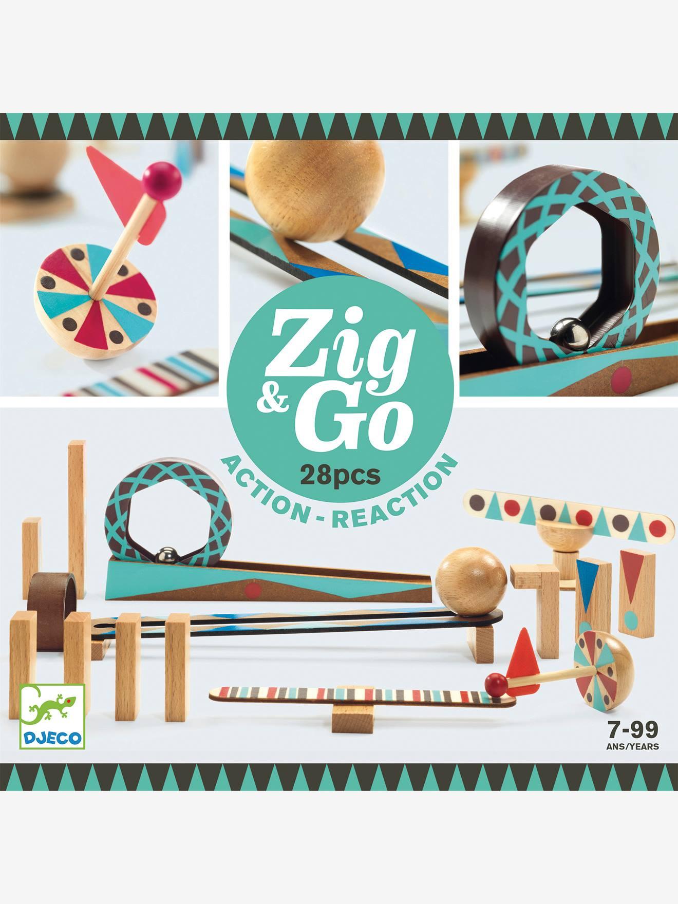 Zig&Go 28 pièces DJECO marron
