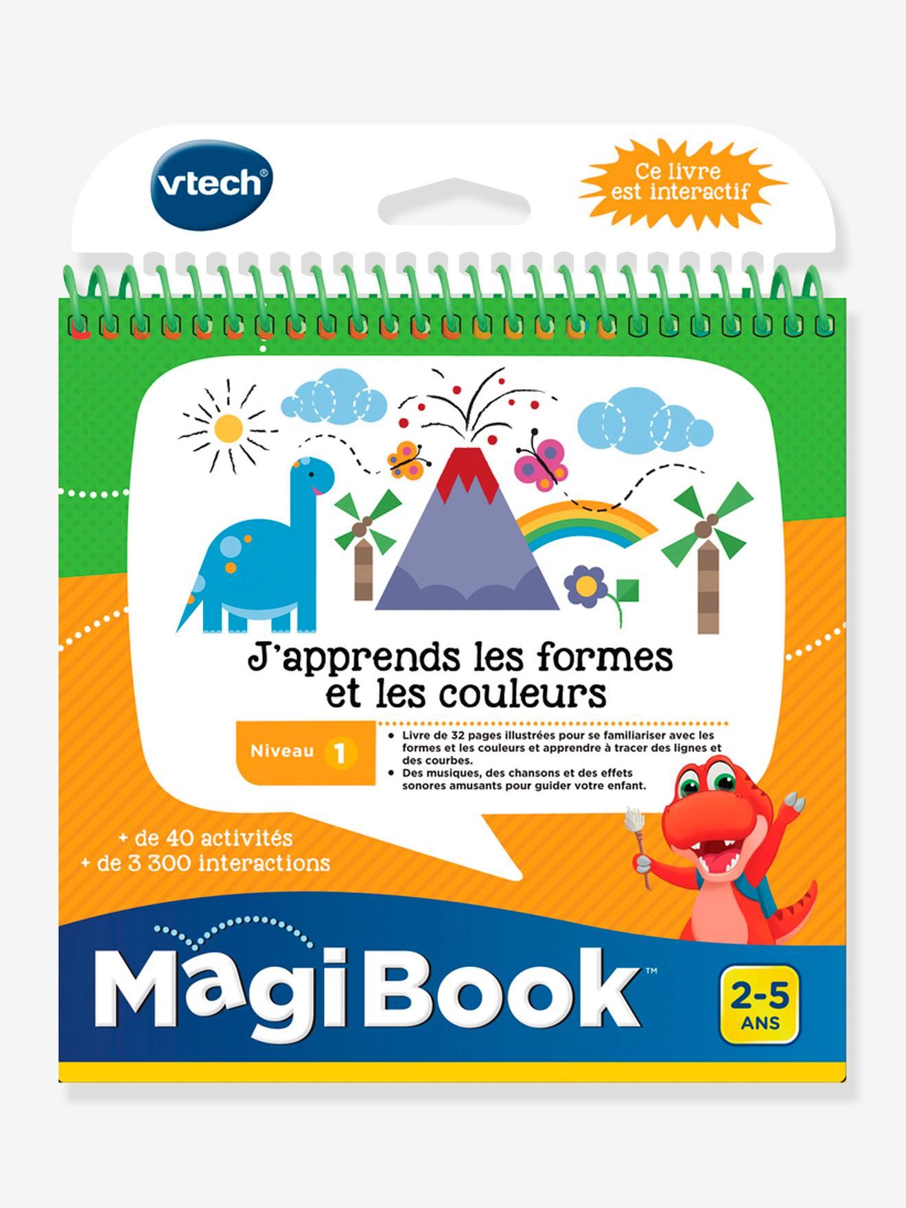 MAGIBOOK - Livre éducatif « J'apprends les formes et les couleurs » VTECH multicolore