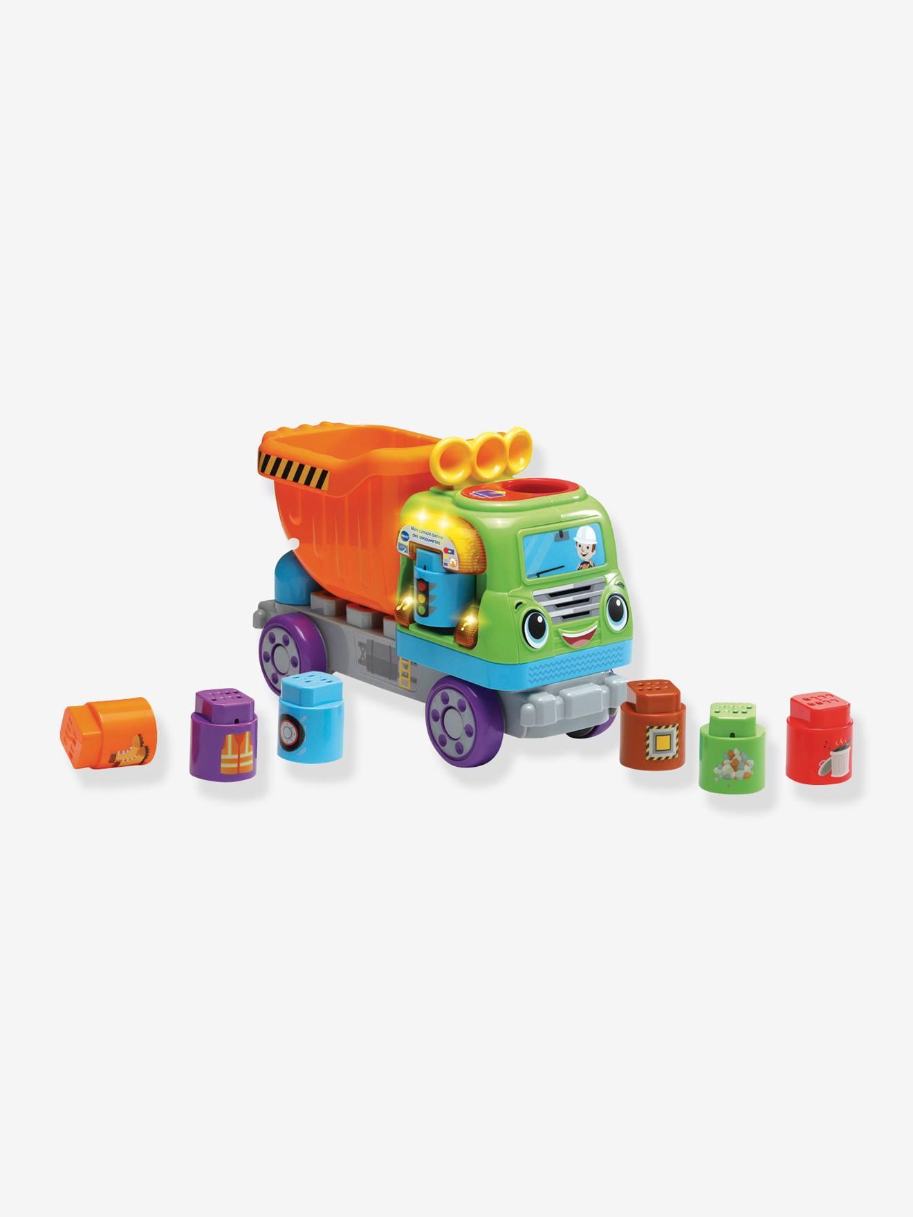 Mon camion benne des découvertes VTECH multicolore