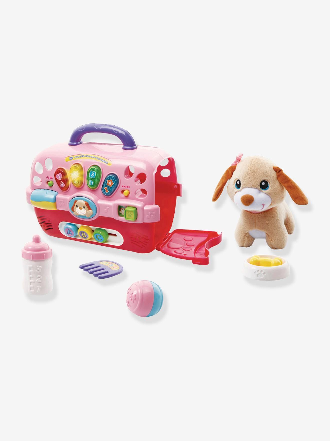 Mon p'tit chien et sa box magique VTECH multicolore