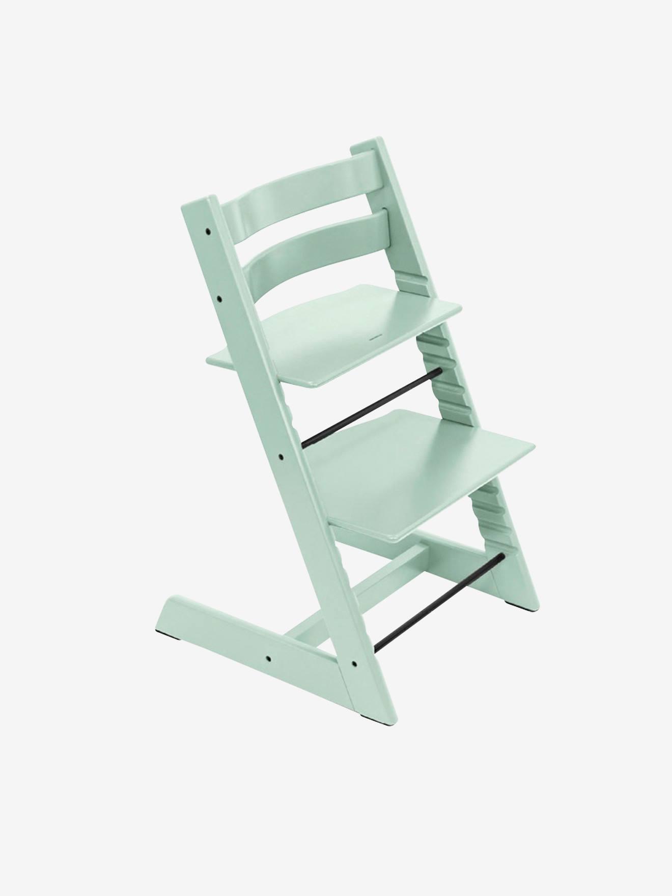 Chaise haute Tripp Trapp STOKKE menthe a l'eau